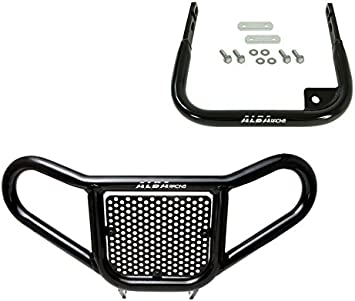 ECOTRIC Grab Bar Rear Bumper Aluminum Compatible with Yamaha Raptor 700