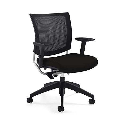 Medium Back Chair (Mesh Desk Chair -