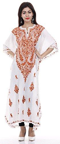 Caftano Da Lungo 563 Kashmiri Coprire Caftano Abito Spiaggia Odishabazaar Costume Bagno Donne Delle cO86qcgTZw
