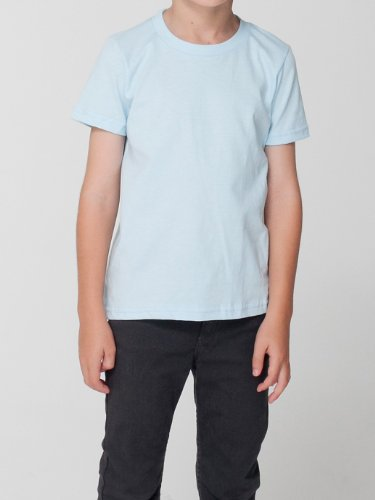 American Apparel Toddlers Fine Jersey Short-Sleeve T-Shirt (2105) -LEMON -4T by American Apparel (Image #3)