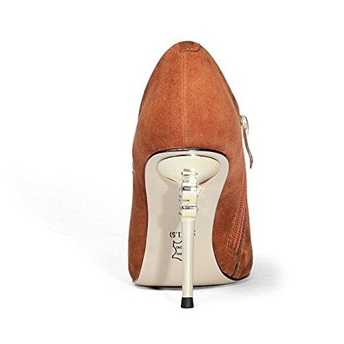Mouthed Nationalen Schuhe Fein Metall Bestickte Tief Wind Spitzen Lederschuhe Mit Strass HpZnq