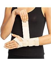 ArmoLine Pols Spalk Hand Brace Rechts Links Ondersteuning Carpal Tunnel Verstuiking Artritis Pijn Duim Ademend