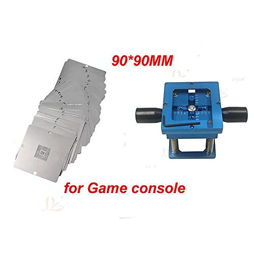 Jammas 90MM Universal bga reballing stencil kit for Game console 23pcs+ reball station for PS3, Xbox 360 etc