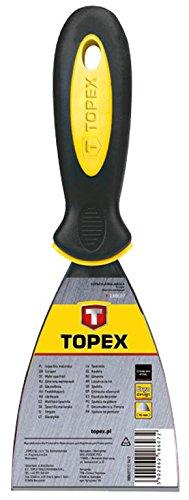 Topex 18b607//–/Spatule de peintre Inox, manche bi-materia, 75/mm