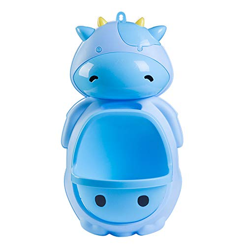 - Cute Cow Boy Urinal Standing Potty Toilet Training (blue)