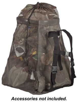 Drake Waterfowl Olive Big Mouth Decoy Bag with Pyramid Bottom Design