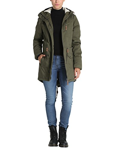Women Parka Green Lined s Berydale Khaki O8w14n