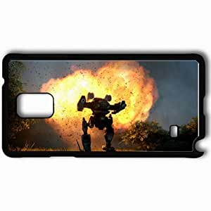 Personalized Samsung Note 4 Cell phone Case/Cover Skin A Clan Madcat Mark Ii Black