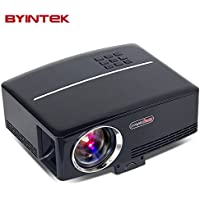 Byintek Mini Projector GP80 Support HDMI VGA AV USB For Home Theater Video Game Use