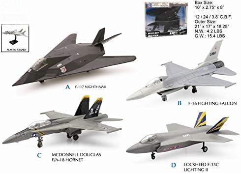 New Ray Pack de 12 Aviones Militar: Amazon.es: Coche y moto