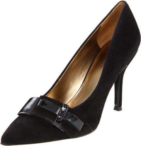 Nine West Francess - Zapatos de vestir de cuero para mujer negro Black/Blk 39