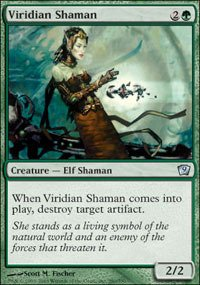 Magic: the Gathering - Viridian Shaman - Ninth Edition