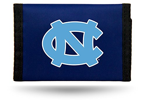 Rico Industries NCAA North Carolina Tar Heels Nylon Trifold Wallet