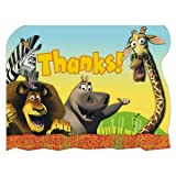 : Madagascar Thank You Notes 8ct