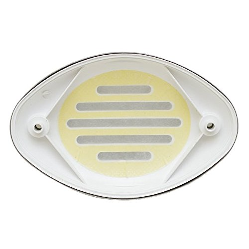 Marinco Assy, WHT Grill/SS Cover OEM for Drop in Horns Pack