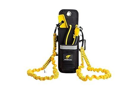Python Safety Hook2Loop Lanyard Bungee Tether 15 LBS Carabiner EXT-H2LBUNGEE USA