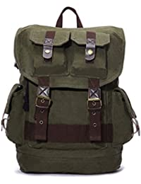 Canvas Men's Casual Travel Bag Outdoor Bag Climbing Daypack Backpack Schoolbag