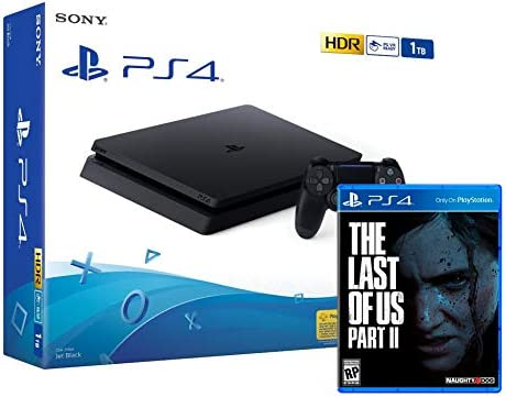 PS4 Slim 1Tb Negra Playstation 4 Consola + The Last Of Us 2 ...