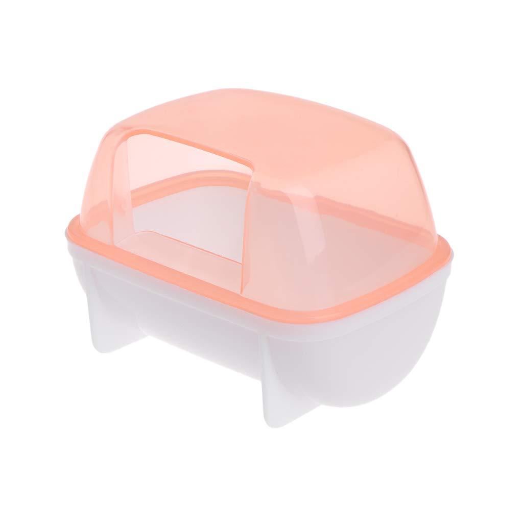 Longsw Hamster Salle De Bain Sauna Animal De Compagnie Petits Animaux Lapin Chinchilla Toilettes Nettoyage(Livraison Aléatoire)