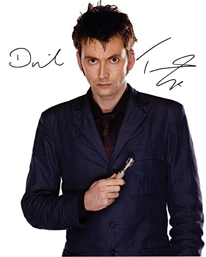 Exclusive David Tennant Doctor Who Autographed 8x10 Photo with CoA