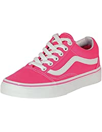 "<span class=""a-offscreen"">[Sponsored]</span>Old Skool Canvas Fandango Pink Unisex Adult Sneakers"