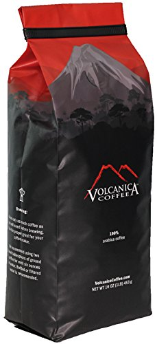 El Salvador Coffee, Whole Bean, Organic, Fair Trade, Rainforest Certified, 16-ounce