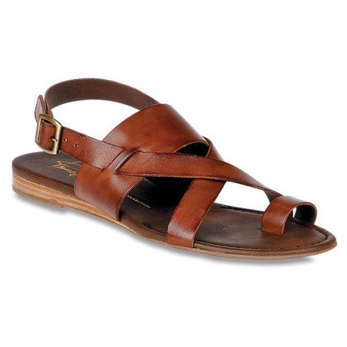 Franco Sarto Dames Gia Chocolade Lederen Sandaal 5,5 M
