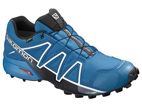 Salomon Men's Speedcross 4 GTX Trail Shoes Sky Diver/Indigo Bunting/Black 11