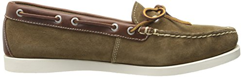 cheap sale wide range of store with big discount Eastland Women's Yarmouth Camp Moc Slip-on Tan Oiled Suede outlet ebay cheap for sale fZGCUv