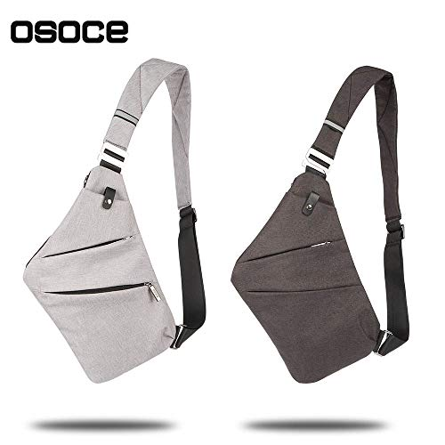 c372e04b947c OSOCE Sling Chest Bag Cross Body Shoulder Backpack Anti Theft - Import It  All