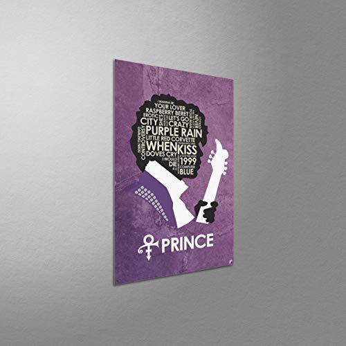 Amazon.com: Prince Lyrics Metal Art Print by Stephen Poon ...