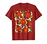 Supreme Pizza Costume Shirt - Halloween Pizza Toppings