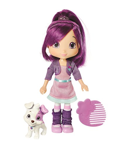 The Bridge Direct Strawberry Shortcake Berry Best Friend Plum Pudding With Pitterpatch Fashion Doll, 6-Inch - Strawberry Shortcake And Friends Costumes