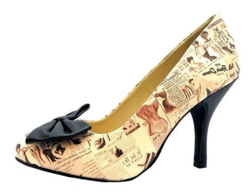 T.U.K. A8567l Lingerie - Zapatos de vestir para mujer Beige beige