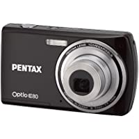 Pentax Optio E80 10MP Digital Camera with 3x Wide Angle Optical Zoom and 2.7-inch LCD (Black) Review Review Image
