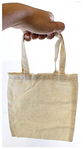 919b460e14e8 ToolUSA 9 Inch Long Tote Bag In Natural Cotton  AB-70010-Z05 ...