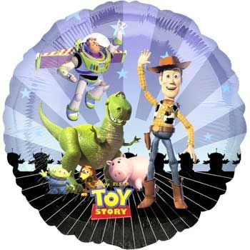 Mayflower Distributing Unisex Adult Disney Toy Story Gang Foil Balloon Black Medium ()