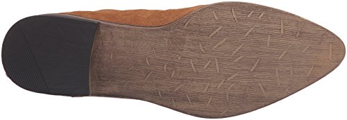 Mocassino Slip-on In Pelle Scamosciata Di Whisky Da Donna