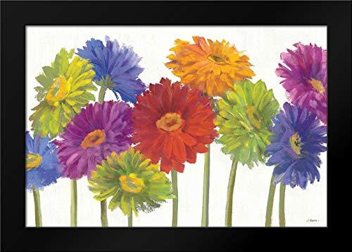 Colorful Gerbera Daisies Framed Art Print by Rowan, Carol