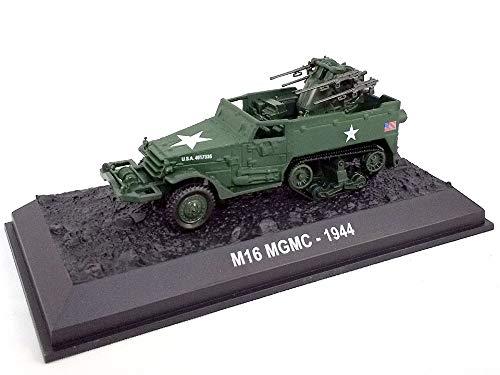 Amercom M16 Multiple Gun Motor Carriage - Half-Track 1/72 Scale Diecast Model