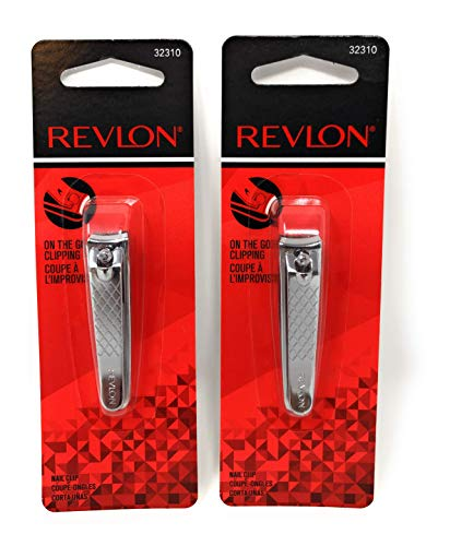 Revlon Beauty Tools Compact Nail Clip - 2 Pack
