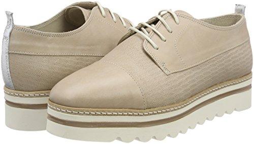 Lace Oxford O'polo Up Mujer Zapatos Shoe Para Gris De taupe Marc Cordones Ap5qq