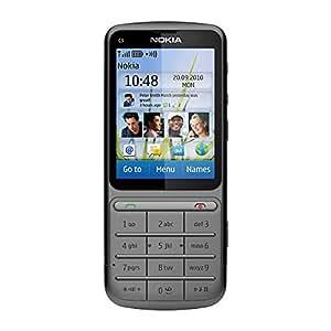 "Nokia C3-01 Gris - Smartphone (6,1 cm (2.4""), 240 x 320 Pixeles, LCD, 32 GB, 50 MB, 4x)"