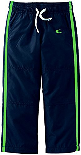 (Carter's Baby Boys' or Girls' Track Pants - Navy with Green (3 Months))