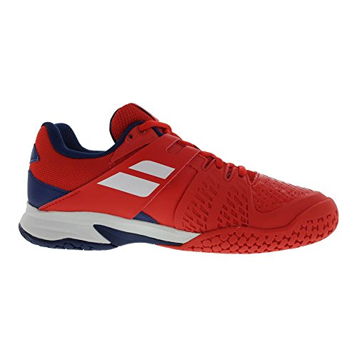 Propulse Shoes Red Junior Blue Bright Estate Babolat All Tennis Court Xq65Twa0w