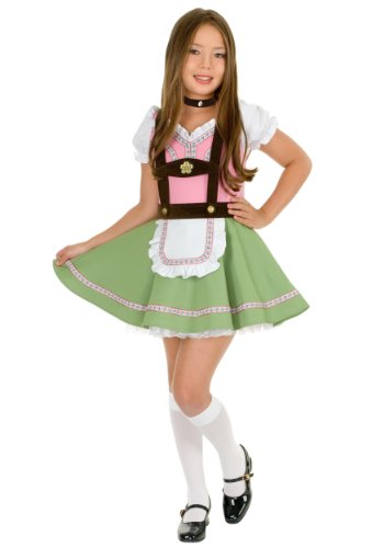 Big Girls' Swiss Alps Girl Costume Large (10-12) ()