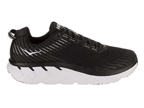 Textile Synthetic White One Hoka Clifton Hombre Black Entrenadores 5 One wqgAxTAHP