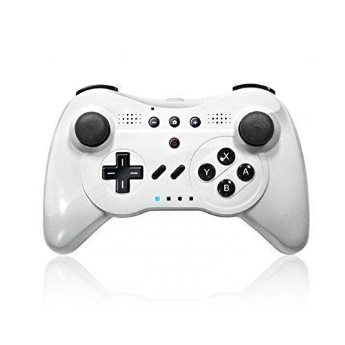 (NEXiLUX NXL-WU001 Wireless 3-in-1 Classic Pro Controller Gamepad for Nintendo Wii U,)