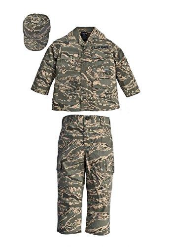 Trooper Clothing ABU 3 Piece Trooper Set w/10 Pockets, Small, ABU Tiger Stripe, Small 6-8, by Trooper Clothing