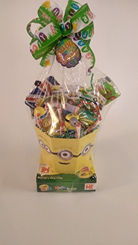Despicable Me Minions Easter Gift Basket 17 piece fully asse